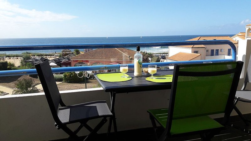 Appartement avec balcon Plein Sud face à l'Océan , WIFI, alquiler de vacaciones en Les Sables-d'Olonne