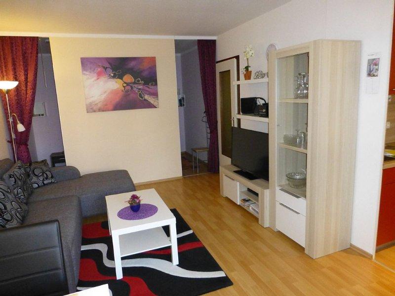 komf. FeWo*** gute Ausstattung für 3 Pers., WLAN , 2 Flachbildschirme,, holiday rental in Altenau