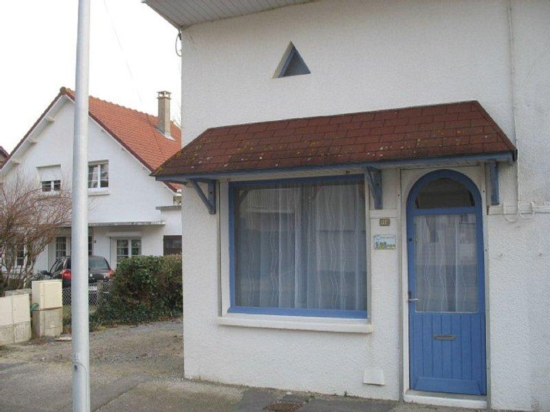 Maison 4 pers prox centre/commerces et à 800 m de la plage, alquiler vacacional en Merlimont