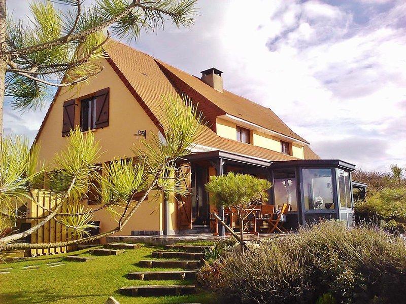 VILLA (120m²) LOC VAC. Bd Sea VIEW / SEA GARDEN closed NORDIC SPA, SEA VIEW,, location de vacances à Camiers