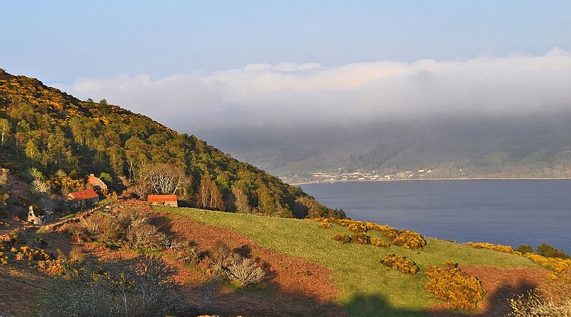 Achcullin and Dores from Master Bedroom...