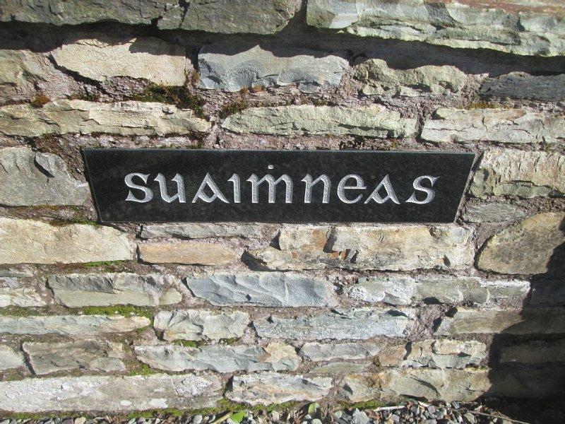 Suaimhneas - gaelic for peacefulness