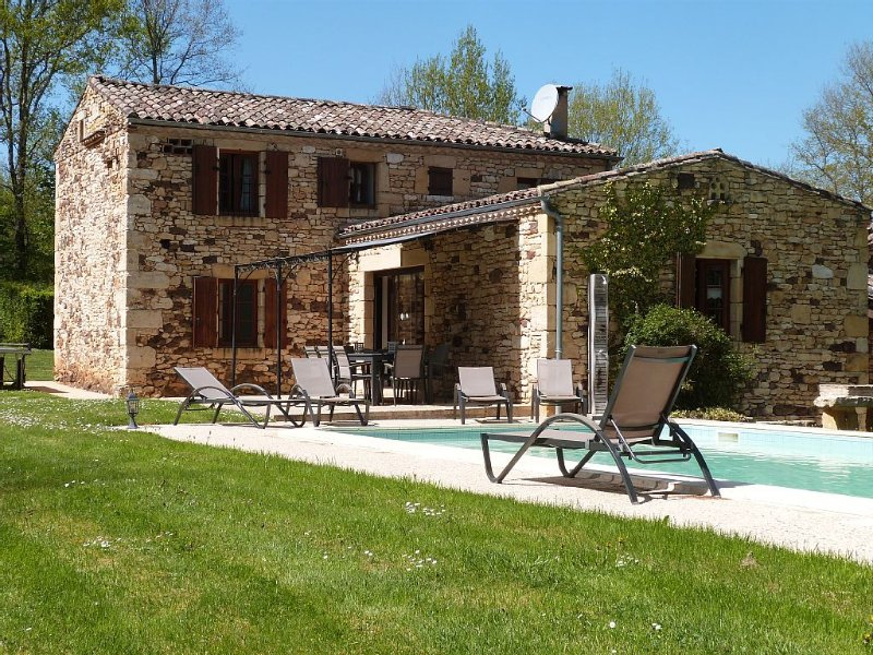 Biron Villa, Dordogne, for 9 persons, 4 stars, holiday rental in Gaugeac