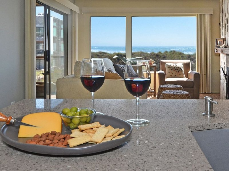On the beach comfort with great view, relaxed space &  a closet of beach toys, vacation rental in Watsonville