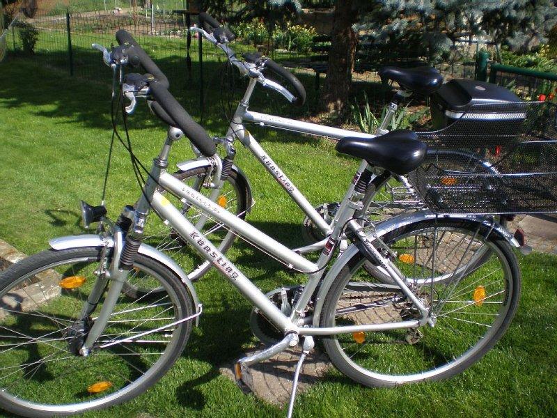 2 Fahrräder zum ausleihen 5€ pro Stück und Tag