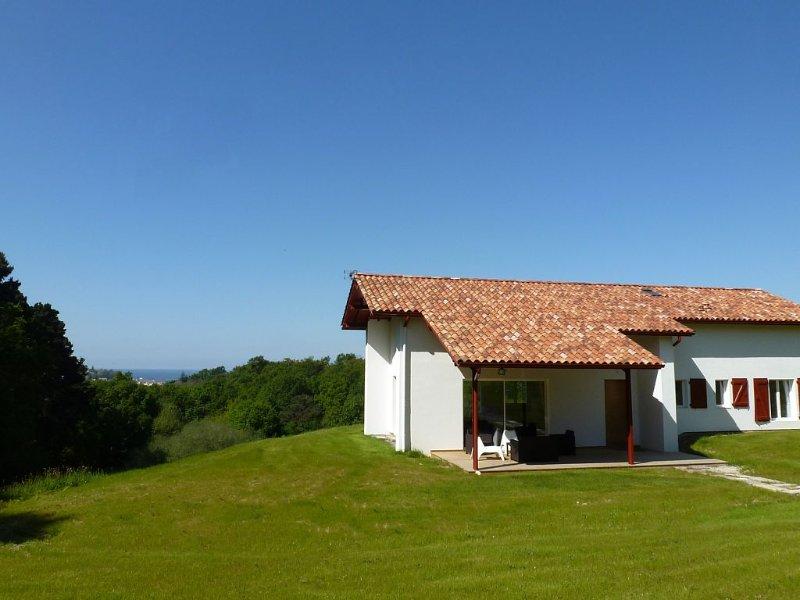 IBAÏGORRI la maison des vacances 4*, entre mer et montagne, location de vacances à Ciboure