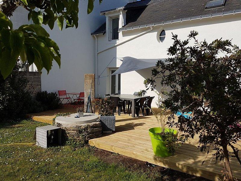 Villa 100 meters from the beach in the center of Piriac., location de vacances à Piriac-sur-Mer