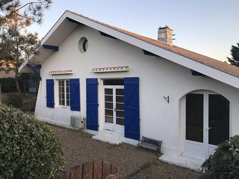 Vieux Boucau: Maison avec jardin, proche de la plage, alquiler de vacaciones en Landes