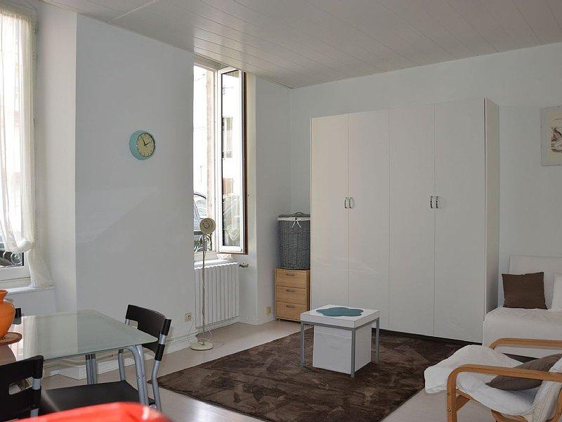 Studio Les Thermes de Jeanne** Rez-de-chaussée en ville, location de vacances à Uzer