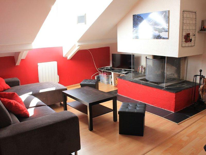 Appt T5 88 m2 - Hyper Centre Cauterets - 7/8 pers, location de vacances à Cauterets