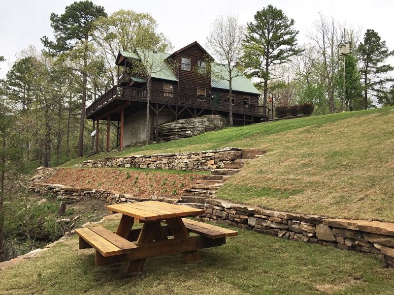 House On The Rock - Ozark National Forest/White River, vacation rental in Calico Rock
