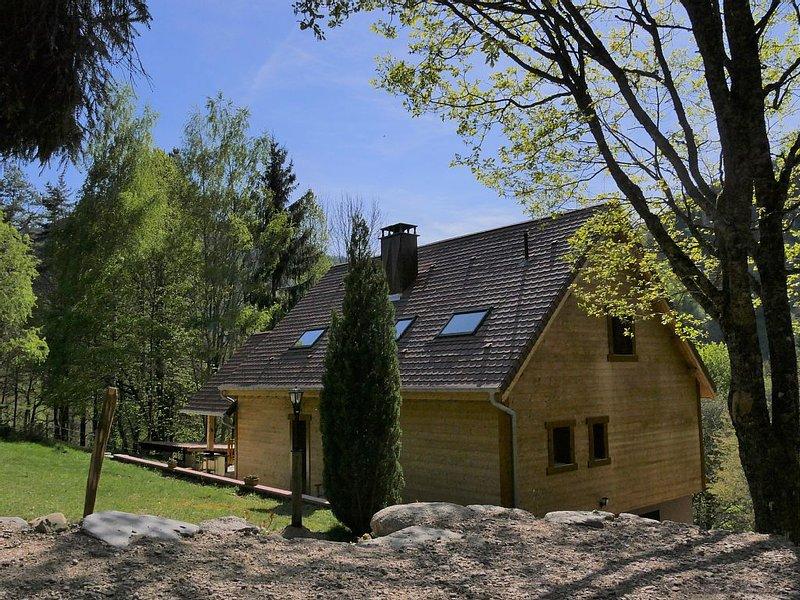 Chalet*** en pleine nature au coeur de l'Alsace Calme , confort et authenticité, alquiler vacacional en Breitenau