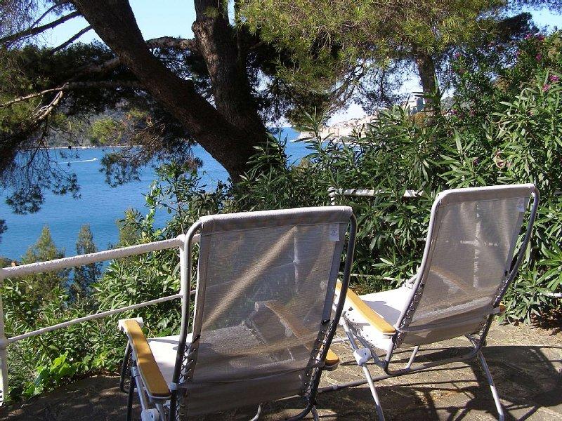 Bouganville Portovenere Beachfront, Private Access To The Sea, Charming Flat, alquiler de vacaciones en Porto Venere