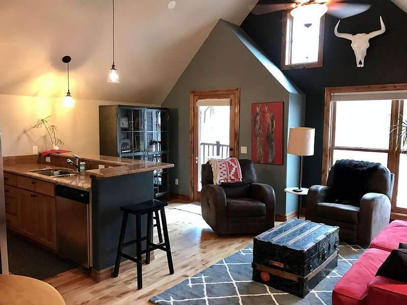 Newly Renovated Downtown Condo! Walk To Restaurants / Hot Springs, alquiler de vacaciones en Pagosa Springs