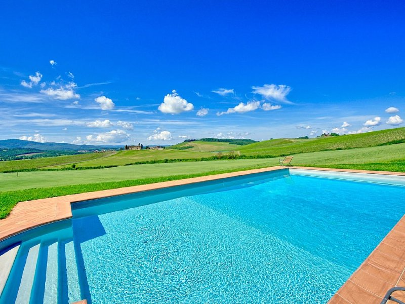 Private pool and amazing views