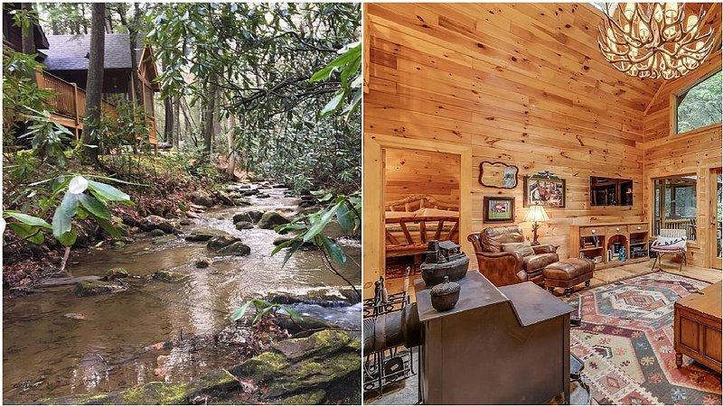 Rushing Creek, Private Haven - Winter rates, location de vacances à Cherrylog