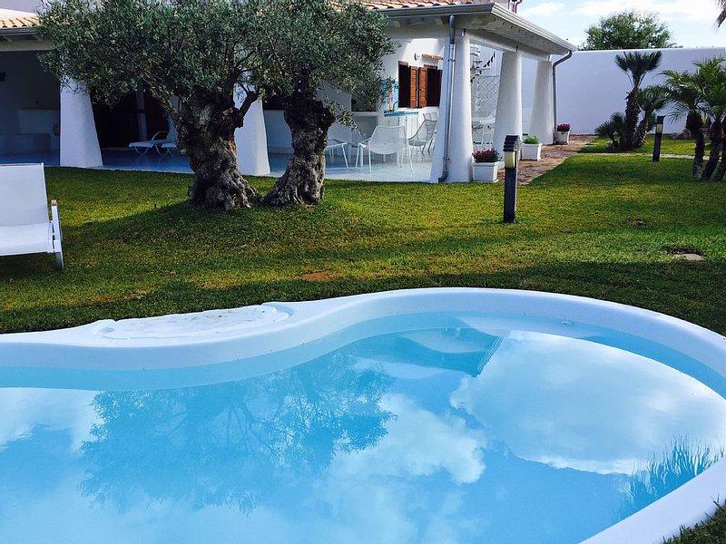 Villa mediterranea San Vito lo capo, casa vacanza a San Vito lo Capo