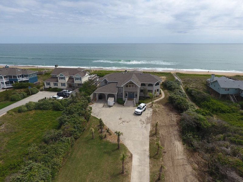 OCEANFRONT 6br  BEST LOCATION ,Pool,Hot tub,Gameroom, vacation rental in Southern Shores