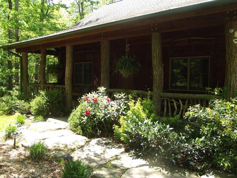 Rustic Mountain Cabin, holiday rental in Brevard