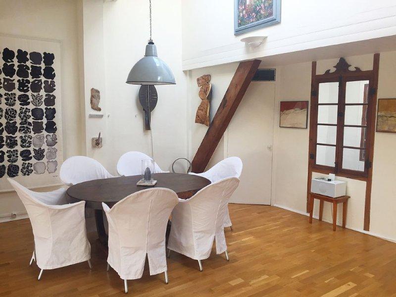 KÜNSTLERATELIER LOFT MIT KLIMA 1 REIHE HAFEN PORT VENDRES, alquiler de vacaciones en Port-Vendres