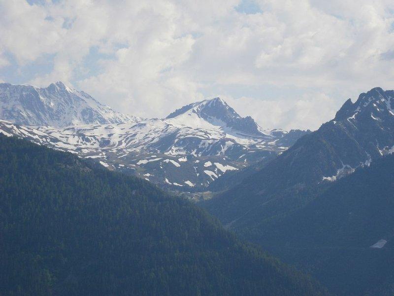 vue de la vallée de l'Isère