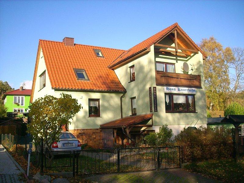 moderne, stilvolle Wohnungen mit Terrasse und  Meerblick auf die Ostsee und Wald, casa vacanza a Göhren