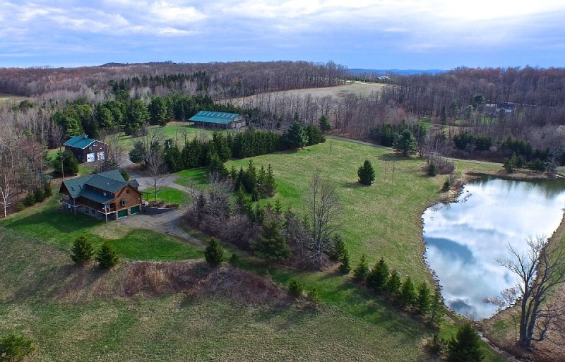 Quiet. Private. Exclusive. 55 acres of open/forested land. Weddings, reunions...