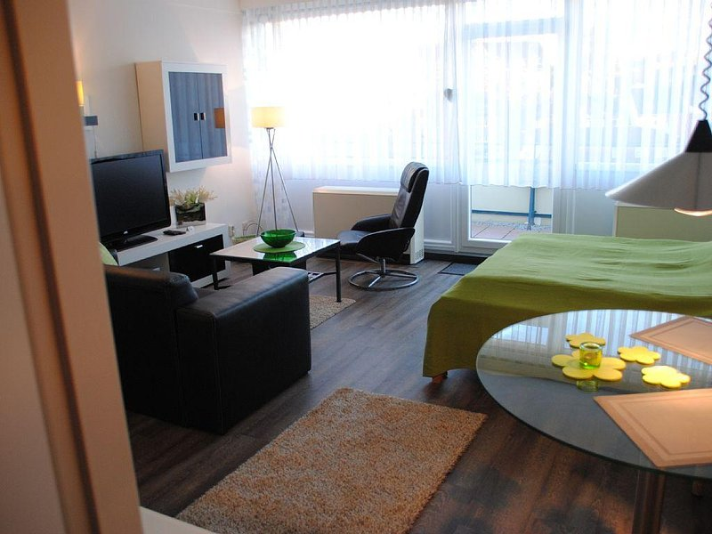 The apartment is newly renovated in the new season, in top fashionable design, holiday rental in Laboe