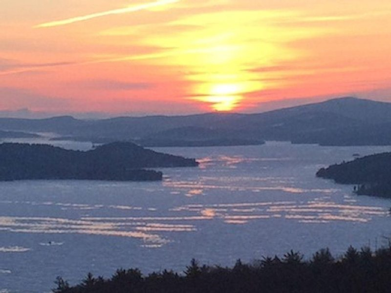 One of the best views of Lake Winnipesaukee, mountains, sunrises and sunsets, vacation rental in Gilford
