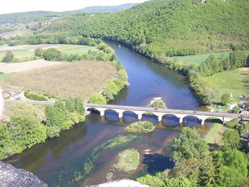 la Dordogne a CASTELNAU