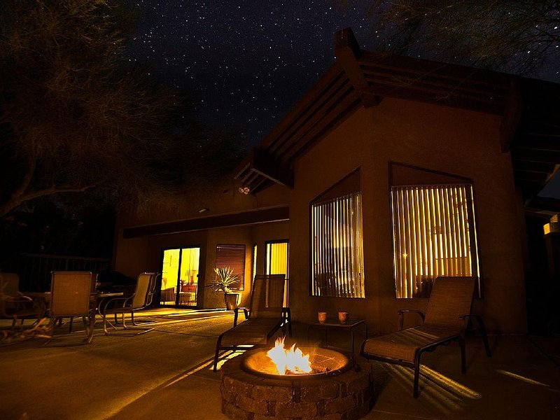 Desert View Patio Home Ram's Hill Gated Community overlooking Fazio Golf Course, holiday rental in Borrego Springs