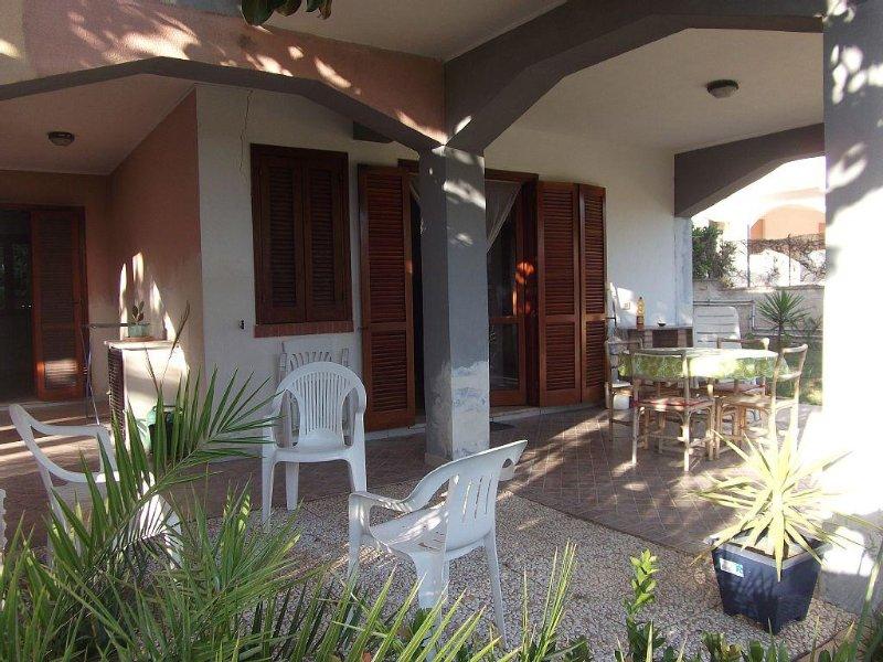 Villa Fontane Bianche piano terra, vacation rental in Cassibile