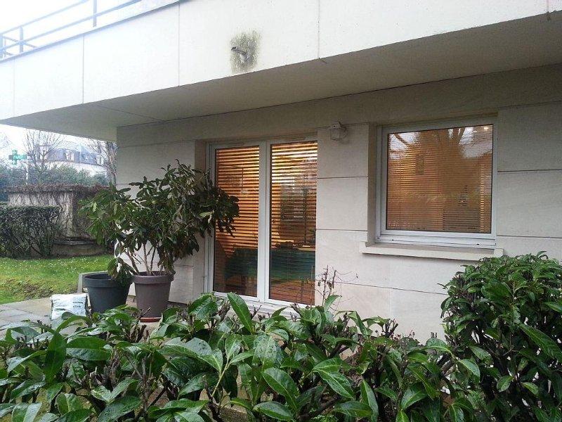 Appartement de 61 m2 au RDC dans une résidence sécurisée à 3mn de la gare – semesterbostad i Auvers-sur-Oise
