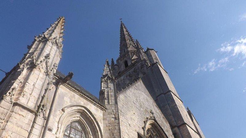 La cathédrale du 12 siècle