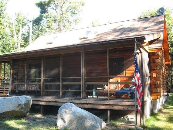 View of screened in porch