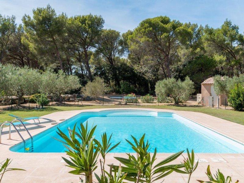 L'Oliveraie de Mathilde- Pays d'Aix en Pce- Piscine -Piano-BBQ-Ping Pong, holiday rental in Pelissanne