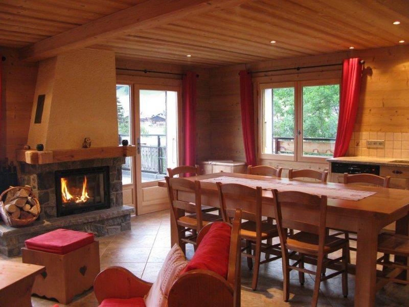 4 Pièces 8 Personnes Au Chinaillon En Pied De Pistes, casa vacanza a Le Grand-Bornand
