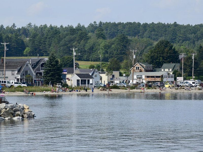 Lincolnville Beach from the back of the Islesboro Ferry...