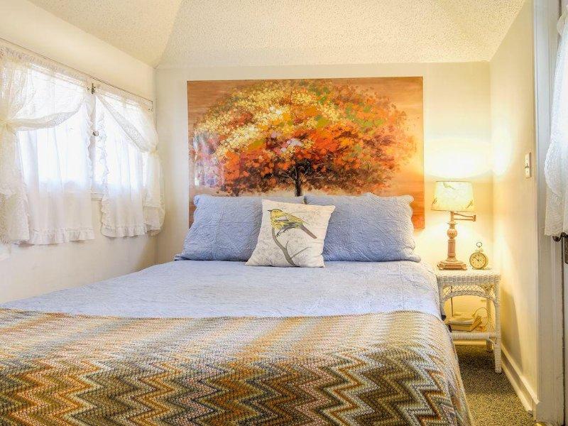 Sleep serenely on a high quality memory foam mattress.
