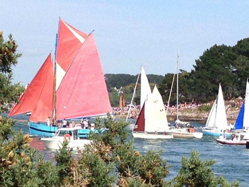 Maison tout confort au coeur du golfe du Morbihan, à 200 m de la mer, location de vacances à Baden