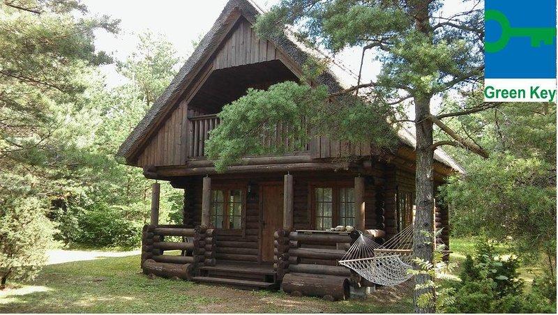 Cozy holiday house near the sea in Saaremaa island, casa vacanza a Muhu