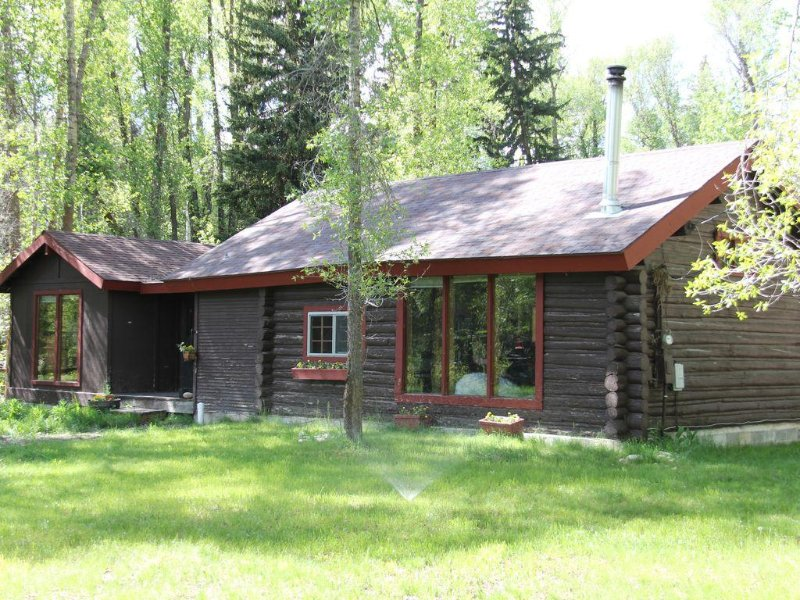 Rustic Log Cabin on 1/2 acre, casa vacanza a Wilson