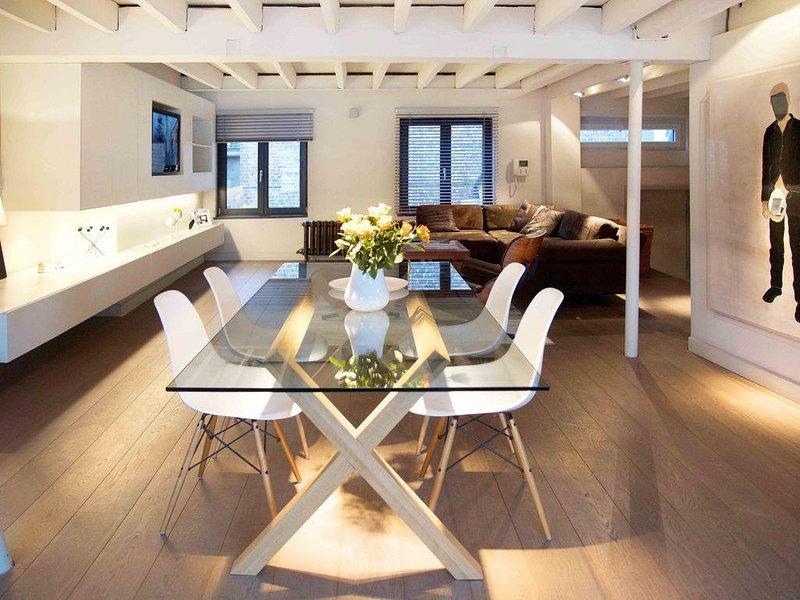 Loft luxueux et design au coeur de Brxl, vacation rental in Brussels