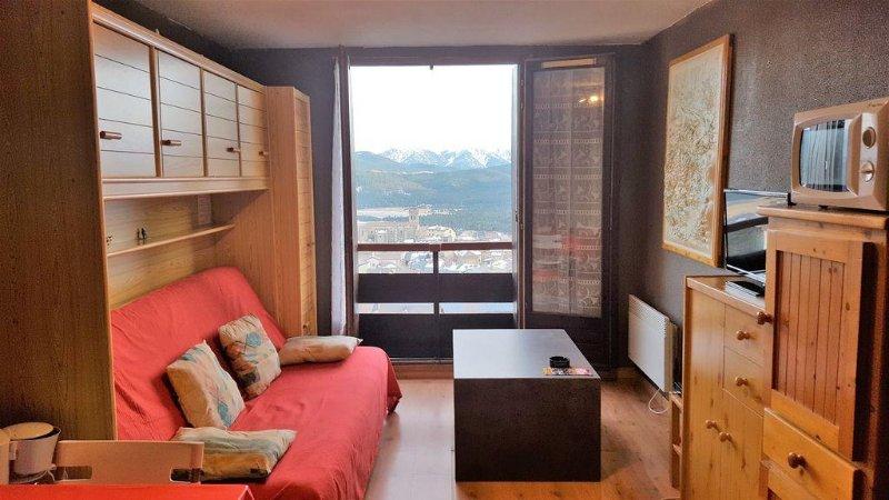 Studio Cabine Les Angles 66 (4p), location de vacances à Matemale