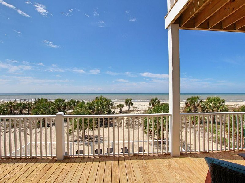 Gulf front, Extraordinary views, Private pool, wide beaches, pet friendly, holiday rental in Port Saint Joe