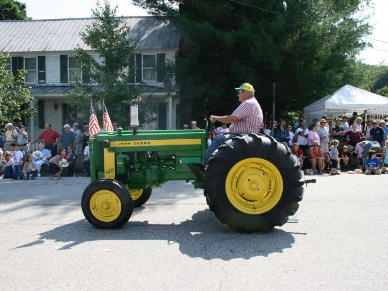 July 4 parade at Wardsboro