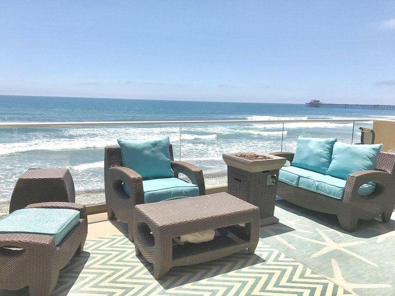 Spectacular Villa, Walk to Pier Dining!, vacation rental in Oceanside