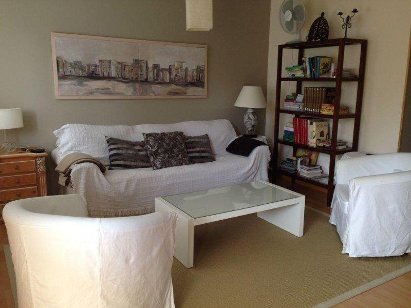 Precioso apartamento en playa de Langosteira – semesterbostad i Fisterra