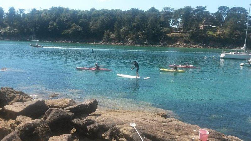 ballade sur l'aven en Kayak et paddle (location à pont aven 5km