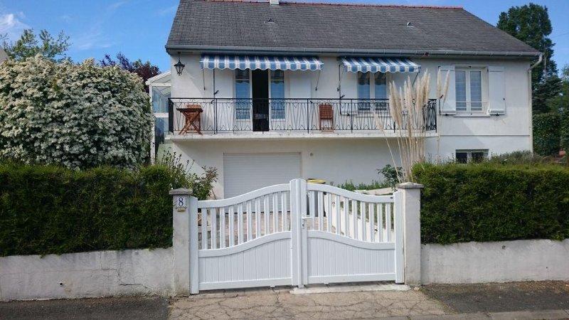 Maison individuelle, très calme, tout confort, proche châteaux de la Loire, location de vacances à Villandry